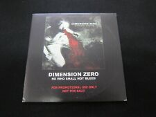Dimension Zero - He Who Shall Not Bleed - EX - CardSleevePROMO!!!!!!!