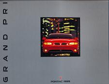 1999 Pontiac Grand Prix 26-page Original Car Sales Brochure Catalog - GT GTP SE