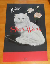 Wilco Star Wars Poster Original Promo 17x11