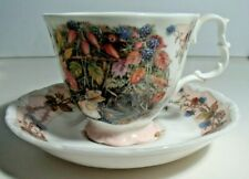 Royal Doulton Brambly Hedge, Cup & Saucer, Autumn