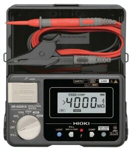 NEW Insulation Resistance Tester for Photovoltaic System IR4053-10 HIOKI