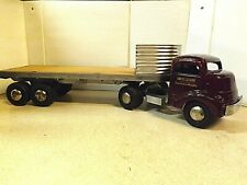 """1950's SMITH MILLER """"SMITTY TOYS"""" SEMI TRACTOR TRAILER TRUCK"""