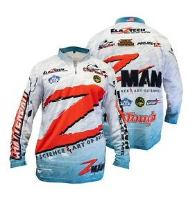 Z-Man Tournament Fishing Jersey Pro Zman Bassmaster Tournament Jersey Shirt
