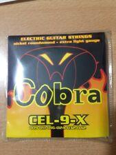+ set 6 corde muta chitarra elettrica cobra 09 - 42  nikel exstra light