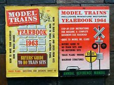 MODEL TRAINS YEARBOOKS 1963 & 1964 MAGAZINES ITEM #3750