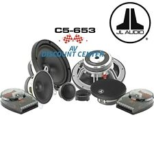 "NEW JL AUDIO C5-653 EVOLUTION 6.5""  3-WAY COMPONENT SPEAKERS SET"