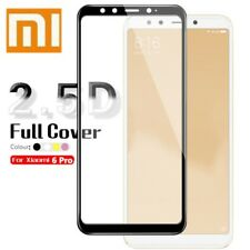9H Curved Tempered Glass Film For Xiaomi Mi A2 / A2 Lite Screen Protector Film