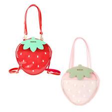 Lolita Cute Strawberry Transparent Bag Itabag Women Handbag Girls Backpack