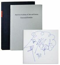 CENTENNIAL PORTFOLIO-AMERICAN ACADEMY OF ARTS & LETTERS-SIGNED BY KURT VONNEGUT