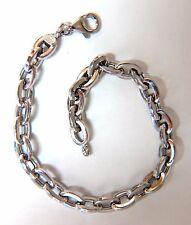 14kt. gold Chain Link High shine Bracelet