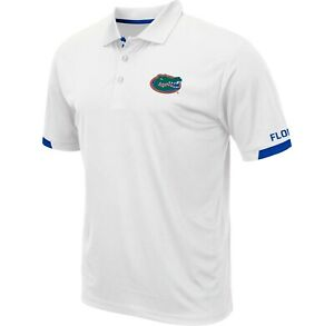 Florida Gators Men's White Colosseum Fairway Golf Polo - NWT - FREE SHIPPING!