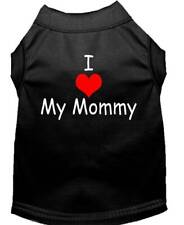 Mirage Pet Products - I Love My Mommy Dog Shirt Sizes XS-3X