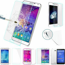 9H Premium Tempered Glass Film Screen Protective Guard For Samsung Cell Phones