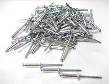 Aluminium pop rivets. 4 x 12mm. Pack of 500! Blind rivets. *Top Quality!