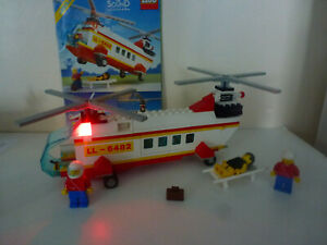 LEGO Classic Town Rescue Helicopter (6482) Light & Sound + Original instruction
