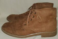 Old Navy Suede Chukka Brown Boots Size 9 Men's