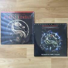 Mortal Kombat & Mortal Kombat Annihilation Laserdisc Lot - Widescreen Edition