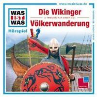 """WAS IST WAS """"FOLGE 35: DIE WIKINGER/VÖLKERWANDERUNG"""" CD NEU"""