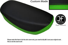 LIGHT GREEN AND BLACK VINYL CUSTOM FITS HONDA DAX CT ST 70 DUAL SEAT COVER ONLY