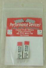 40Mhz Futaba Single Conversion TX/RX Crystal Set UK CH77 / Euro CH58 40.775Mhz