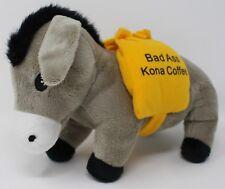 Bad Ass Kona Coffee of Hawaii Mule Donkey Buro Plush Stuffed Animal