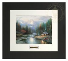 Thomas Kinkade End Of A Perfect Day II Home Collection Espresso Frame