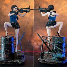 TEAMMAN STUDIO Resident Evil Jill valentine Sexy 1/4 Resin Statue Model Cast Off