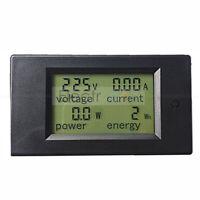 Digital AC 80-260V LCD 20A Volt Watt Power Meter Ammeter Voltmeter