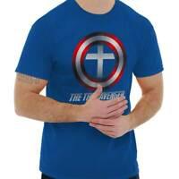 Jesus True Avenger Christian Religious Gift Short Sleeve T-Shirt Tees Tshirts