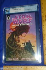 PGX 9.8 Star Wars Dark Empire II #3 (Graded-White Pages/WP)1995 Dark Horse Comic