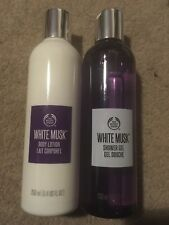 The Bodyshop White Musk Bundle - Body Lotion And Shower Gel NEW