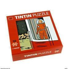 Puzzle Tintin Lune Porte - Neuf sous cello.