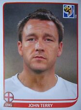 Panini 185 John Terry England FIFA WM 2010 Südafrika