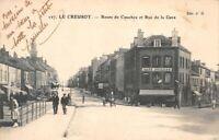 LE CREUSOT - Route de Couches et rue de la gare