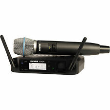 Shure GLXD24/B87A Rechargable Handheld Wireless System w/ BETA87A Mic
