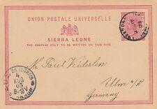 Sierra Leonean Victorian (1837-1901) Philately