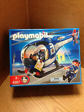Playmobil Police Copter #4267 Brand New
