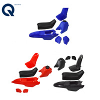 Plastic Fender Body Seat Gas Tank Kit For Yamaha PW50 PY50 Blue Red Black