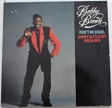 "BOBBY BROWN - Don't be cruel Every little hit mega mix MAXI LP VINYL 12"" 45 RPM"