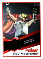 WWE Rey Mysterio Event Used Shirt Relic Card  2013 Topps Triple Threat DWC