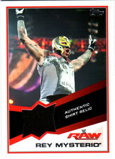 WWE Rey Mysterio 2013 Topps Triple Threat Event Used Shirt Relic Card Black