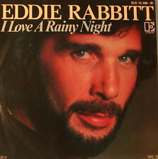 "EDDIE RABBITT - I LOVE A RAINY NIGHT 7"" SINGLE (F1247)"