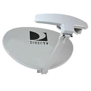 DIRECTV REVERSE BAND 4K ULTRA HD SWM5 SATELLITE DISH, SPLITTER SWITCH DTV KIT