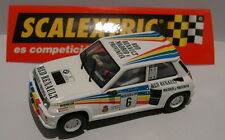 SCALEXTRIC ESPAGNE PLANETA CARLOS SAINZ RENAULT 5 TURBO 2 SAINZ-LACALLE 1983