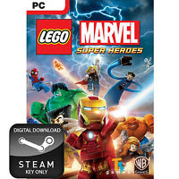 LEGO MARVEL SUPER HEROES PC AND MAC STEAM KEY