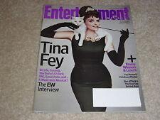 TINA FEY * #1227 October 5 2012 ENTERTAINMENT WEEKLY MAGAZINE * Ben Affleck Argo