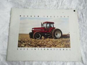 1992 Case International CASEIH 7110 7120 7130 7140 Magnum tractor brochure