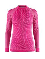 Funktionsshirt CRAFT Intensity, Damen, Kompression, Langarm, warm, pink Fantasy