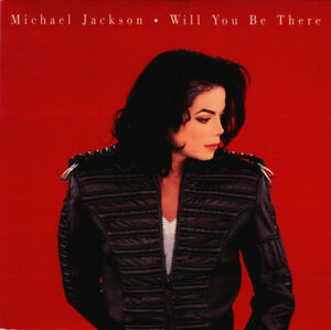 Michael Jackson - Will you be there - 1993 Card sleeve - RAR - Maxi Top Zustand