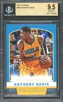Anthony Davis Rookie Card 2012-13 Panini #241 New Orleans Hornets BGS 9.5
